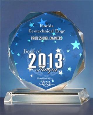 Best of Tampa 2013 Award